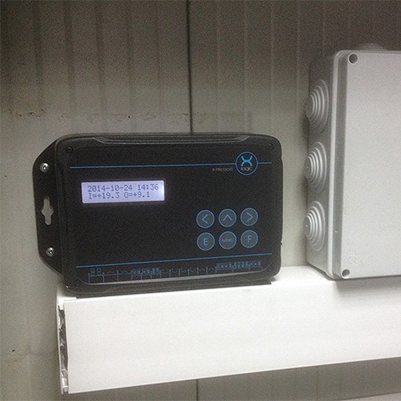 Free Cooling Controller for Telecommunication Base Stations